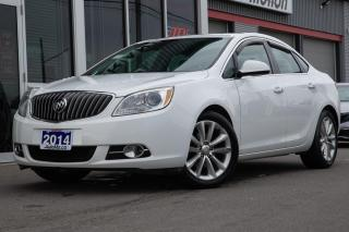 Used 2014 Buick Verano Leather Package LEATHER SUNROOF BACK UP SENSOR NO ACCIDENTS for sale in Chatham, ON