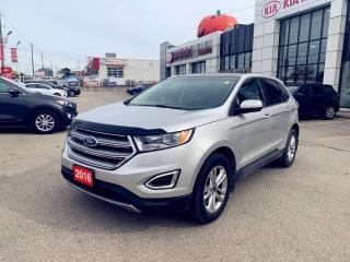 Used 2016 Ford Edge SEL AWD/NAVI/PANOROOF/LEATHER/PUSH START/LOADED/ for sale in North York, ON