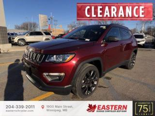 New 2021 Jeep Compass 80th Anniversary | Pano Sunroof | Remote Start | for sale in Winnipeg, MB