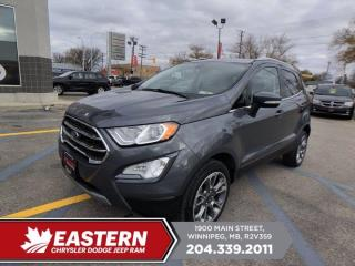 Used 2019 Ford EcoSport Titanium | 1 Owner | No Accidents | Remote Start | Htd. Front Seats | for sale in Winnipeg, MB