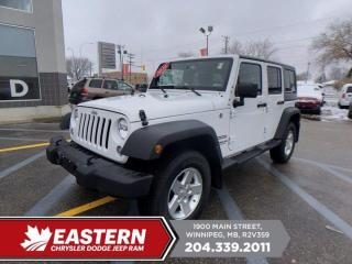 Used 2016 Jeep Wrangler Unlimited Sport | 1 Owner | No Accidents | Removeable Hard Top | for sale in Winnipeg, MB