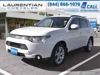 Used 2014 Mitsubishi Outlander GT!!  4WD!!  POWER LIFTGATE!! for sale in Sudbury, ON