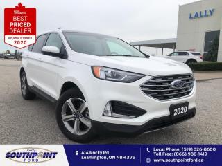 Used 2020 Ford Edge SEL AWD|HTD seats|Sunroof|Remote start|CarPlay| for sale in Leamington, ON