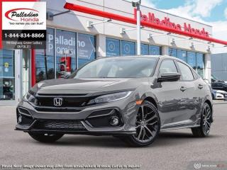New 2020 Honda Civic Hatchback Sport for sale in Sudbury, ON