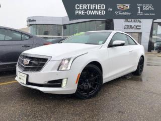 Used 2016 Cadillac ATS Coupe Performance AWD | Bose Audio | Cadillac CUE for sale in Winnipeg, MB