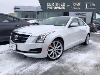 Used 2016 Cadillac ATS Sedan Luxury 3.6L AWD   Heated Steering Wheel   Nav for sale in Winnipeg, MB