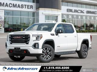 New 2021 GMC Sierra 1500 AT4 TECHNOLOGY PKG | WI-FI HOT SPOT | 4X4 | DRIVER ALERT PKG | REMOTE START | BOSE SOUND SYSTEM for sale in London, ON