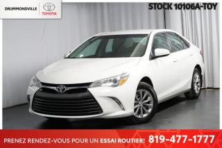 Used 2016 Toyota Camry LE| CAM RECU| SIÈGES CHAUFFANTS for sale in Drummondville, QC