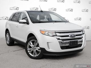 Used 2014 Ford Edge Limited NAVIGATION | PANORAMIC MOONROOF | BLIND SPOT MONITORS | PUSH BUTTON START for sale in Oakville, ON
