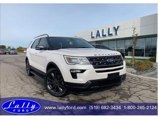 Used 2018 Ford Explorer XLT, Moonroof, Nav, 4WD!! for sale in Tilbury, ON