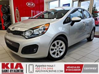 Used 2012 Kia Rio 5 LX+ * SIÈGES CHAUFFANTS / BLUETOOTH for sale in St-Hyacinthe, QC