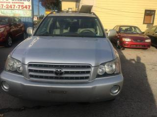 Used 2002 Toyota Highlander V6 4WD for sale in Scarborough, ON