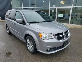 Used 2014 Dodge Grand Caravan SE/SXT Leather Suede Interior, Tri-zone Climate, Stow'n Go! for sale in Ingersoll, ON