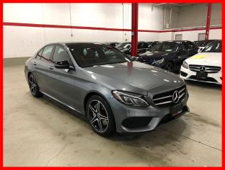 Used 2017 Mercedes-Benz C-Class C300 4MATIC NIGHT BURMESTER PREMIUM PLUS RED INT! for sale in Vaughan, ON