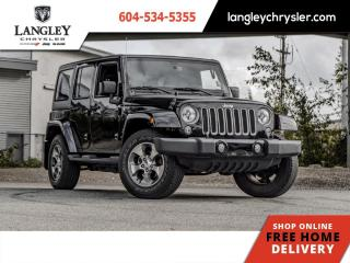 Used 2016 Jeep Wrangler Unlimited Sahara  Remote Start / Navi for sale in Surrey, BC