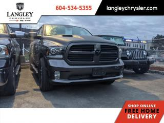 Used 2017 RAM 1500 Sport  Trailer Brake / Local / Loaded / Accident Free for sale in Surrey, BC