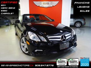 Used 2011 Mercedes-Benz E-Class CABRIOLET | ACCIDENT FREE | CERTIFIED | FINANCE @ 4.65% for sale in Oakville, ON