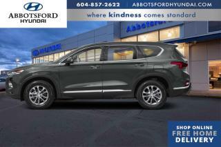 New 2020 Hyundai Santa Fe 2.0T Luxury AWD  - Sunroof - $222 B/W for sale in Abbotsford, BC
