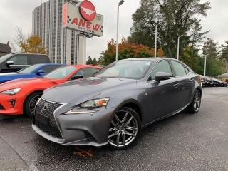 Used 2014 Lexus IS 250 f sport red interior for sale in Cambridge, ON