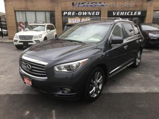 Used 2014 Infiniti QX60 AWD 4dr-NAVIGATION-REAR TVS for sale in North York, ON