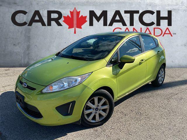 2012 Ford Fiesta SE / NO ACCIDENTS / ALLOY WHEELS
