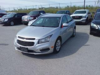 Used 2015 Chevrolet Cruze LT for sale in Innisfil, ON