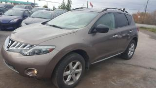 Used 2010 Nissan Murano SL for sale in Gloucester, ON