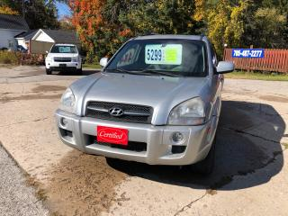 Used 2008 Hyundai Tucson GL for sale in Oro Medonte, ON