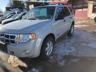 Used 2008 Ford Escape XLT for sale in Oro Medonte, ON