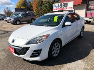 Used 2010 Mazda MAZDA3 GS for sale in Oro Medonte, ON