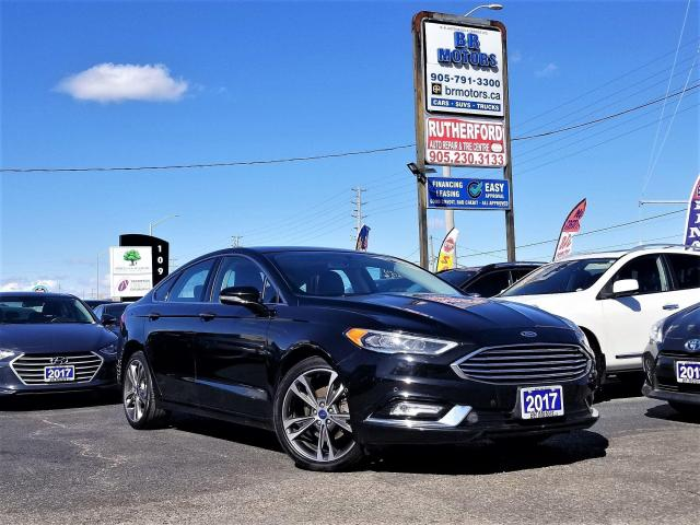 2017 Ford Fusion NO ACCIDENTS |Titanium AWD | AUTOPARK | R CAM| NAV