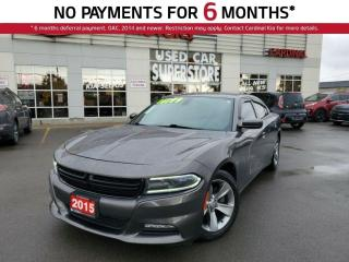 Used 2015 Dodge Charger SXT, Heated Seats, Remote Starter, Bluetooth. for sale in Niagara Falls, ON