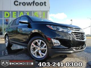 Used 2020 Chevrolet Equinox PREMIER WITH LEATHER AUTOMATIC AWD for sale in Calgary, AB