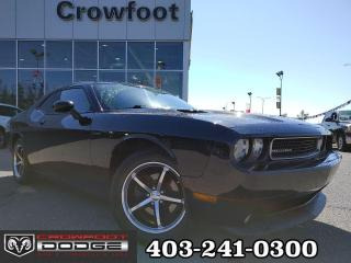 Used 2011 Dodge Challenger R/T REDLINE AUTOMATIC WITH LEATHER & SUNROOF for sale in Calgary, AB