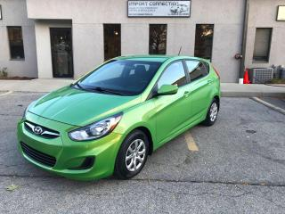 Used 2013 Hyundai Accent 5dr HB Man GL,ONE OWNER,NO ACCIDENTS,CERTIFIED! for sale in Burlington, ON
