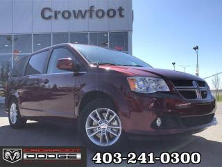 Used 2019 Dodge Grand Caravan PREMIUM PLUS WITH LEATHER & REAR DVD for sale in Calgary, AB