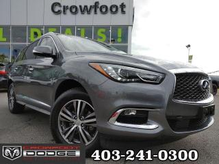Used 2017 Infiniti QX60 PREMIUM WITH DRIVER ASSIST & TECH PACKAGE AWD for sale in Calgary, AB