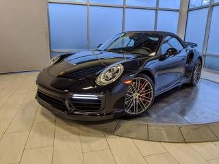 Used 2017 Porsche 911 Turbo Cabriolet | CPO | Ext. Warranty for sale in Edmonton, AB