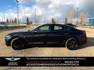 New 2021 Genesis G70 3.3T Sport 4dr AWD Sedan for sale in Edmonton, AB