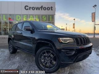 New 2021 Jeep Grand Cherokee 80th Anniversary Edition for sale in Calgary, AB