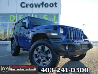 Used 2019 Jeep Wrangler SPORT WITH ALLOY WHEELS for sale in Calgary, AB