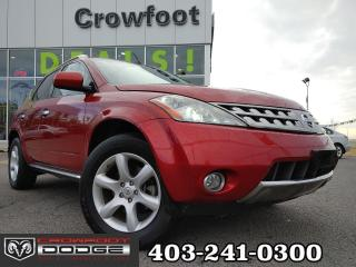 Used 2007 Nissan Murano SE WITH LEATHER & SUNRROF AWD for sale in Calgary, AB