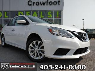 Used 2019 Nissan Sentra SV WITH SUNROOF AUTOMATIC SEDAN for sale in Calgary, AB