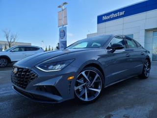 New 2021 Hyundai Sonata SPORT: 1.6 TURBO, SAFETY PACKAGE/APPLE CARPLAY/LEATHER/SUNROOF for sale in Edmonton, AB