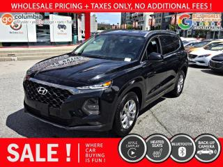 Used 2019 Hyundai Santa Fe Essential AWD w/Safety Pkg - Accident Free / Local for sale in Richmond, BC