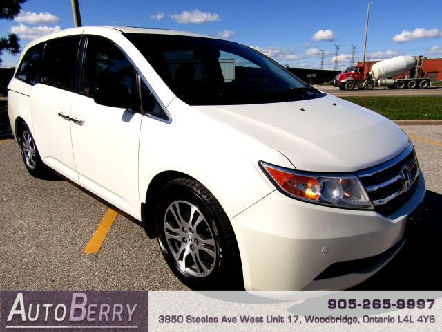 2012 Honda Odyssey EX-L - 8 Passenger - Loaded