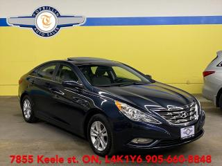 Used 2013 Hyundai Sonata GLS Sunroof, Heated Seats, Warranty for sale in Vaughan, ON