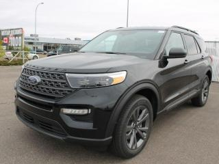 New 2021 Ford Explorer XLT 202A | 4WD | 2.3L Ecoboost | Power Heated Seats | Heated Steering Wheel | Pre-Collision Assist | Reverse Camera/Sensing System for sale in Edmonton, AB