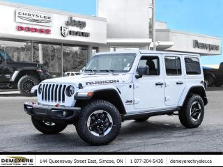 New 2021 Jeep Wrangler UNLIMITED RUBICON | *LEASE FOR $292 BI-WEEKLY for sale in Simcoe, ON