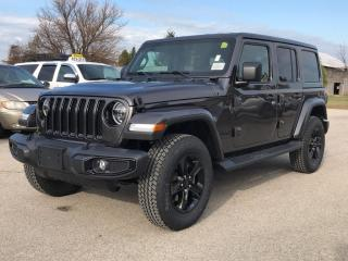 New 2021 Jeep Wrangler Unlimited Sahara Altitude for sale in Port Elgin, ON